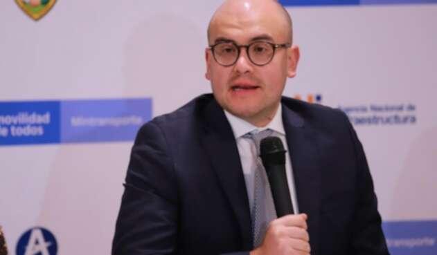 Viceministro de Infraestructura Manuel Felipe Gutiérrez