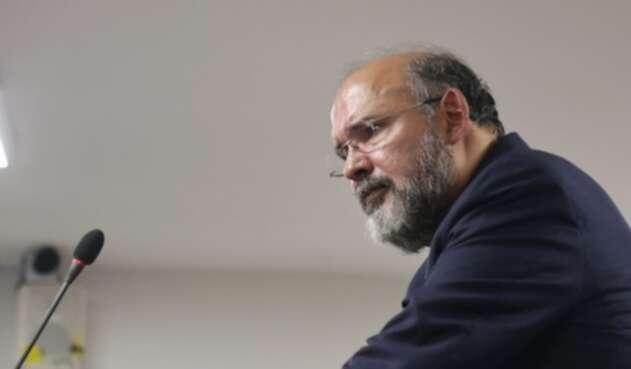 Exmagistrado Francisco Ricaurte declara en el juicio contra Gustavo Malo