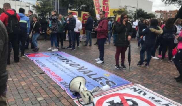 Marchas de Fecode Bogotá