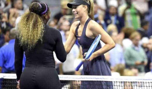 Serena Williams y María Sharapova.
