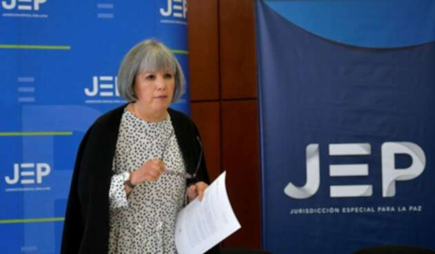 Patricia Linares, presidenta de la Jurisdicción Especial para la Paz (JEP)