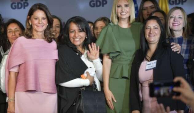 Ivanka Trump durante el lanzamiento del programa para mujeres emprendedoras.