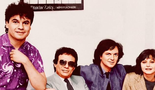 Juan Gabriel, José José, Camilo y Rocío