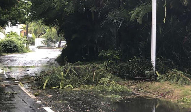 Huracán Dorian en Bahamas
