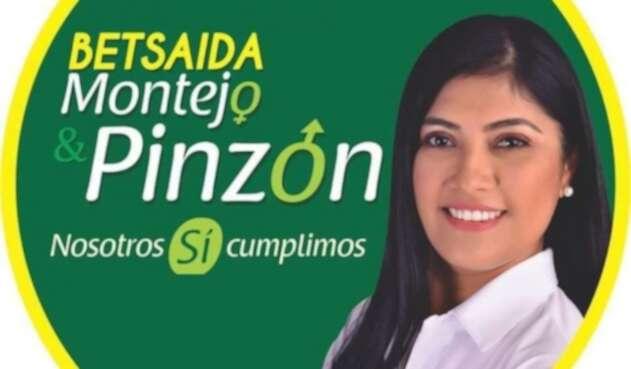 Betsaida Montejo Pérez, candidata a la alcaldía del municipio de San Calixto en Norte de Santander,