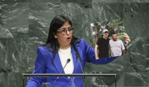 Delcy Rodriguez, vicepresidenta de Venezuela