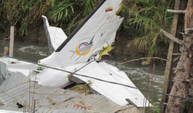 Accidente de avioneta en Popayán