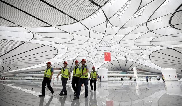 Nuevo aeropuerto de Daxing en Pekín