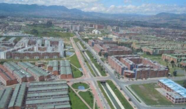 Alameda El Porvenir en Bogotá
