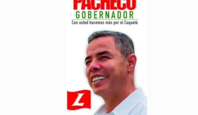 Álvaro Pacheco, exgobernador de Caquetá