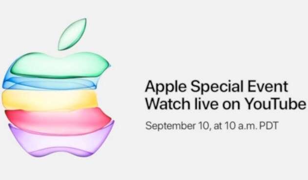 La imagen de Apple para anunciar la llegada de un nuevo celular