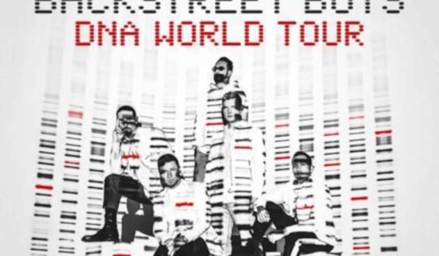 Los Backstreet Boys estarán en Bogotá.