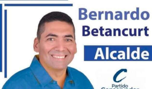 Bernardo Betancurt, candidato a la Alcaldía de Tibú, en Norte de Santander