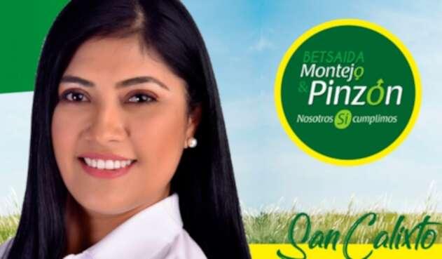 Betsaida Montejo, candidata a la Alcaldía de San Calixto, en Norte de Santander