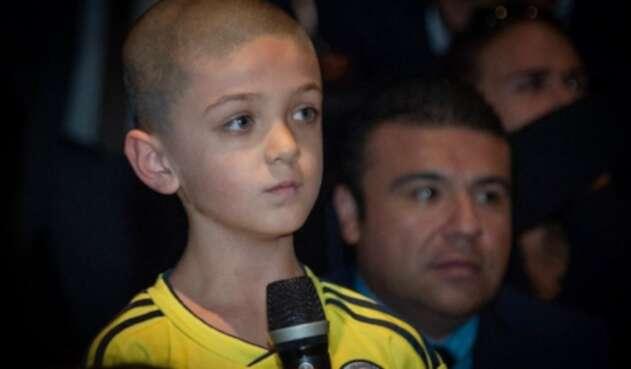 Bichop Mularz, el niño que le hizo la pregunta a Duque