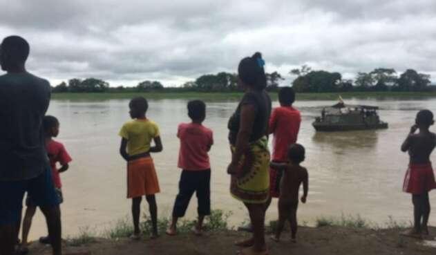 Confinados en Chocó
