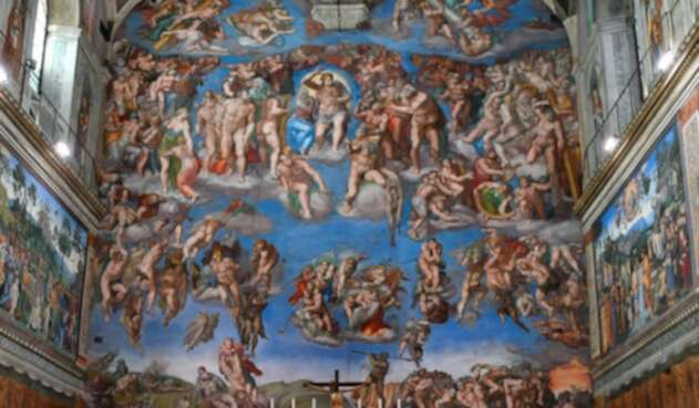 La Capilla Sixtina, en Ciudad del Vaticano
