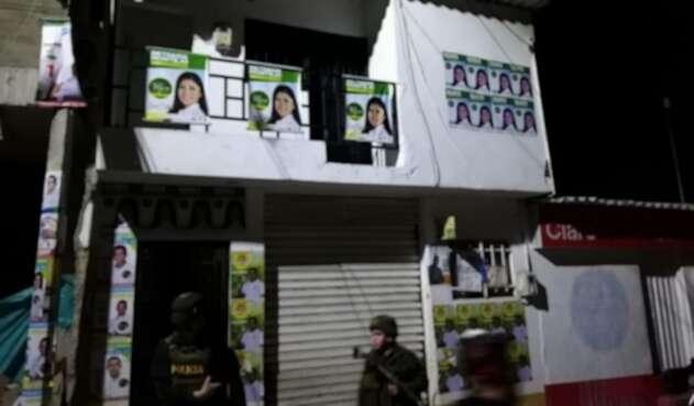 Atentado contra candidata de San Calixto, Catatumbo
