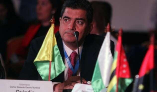 Carlos Eduardo Osorio, gobernador del Quindío