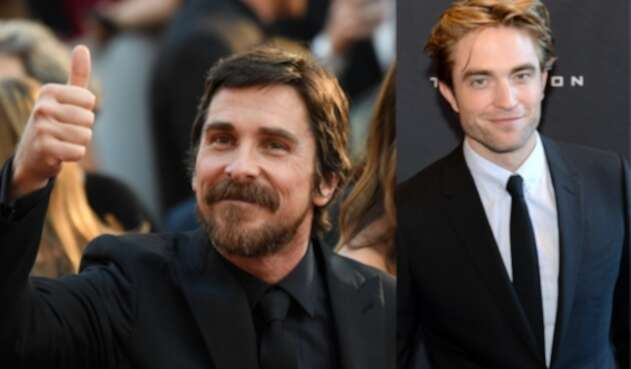Christian Bale y Robert Pattinson