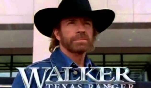 Chuck Norris en la serie 'Walker Ranger de Texas'