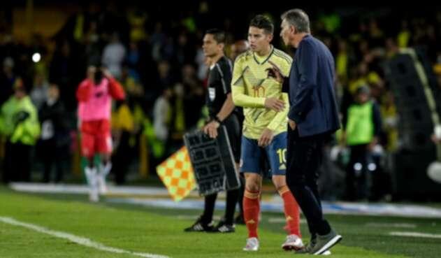 James y Queiroz - Selección Colombia