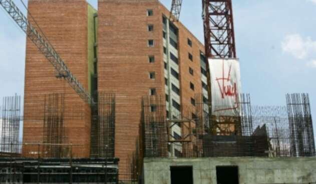Construcción de viviendas en Caracas