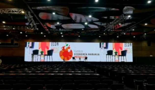 El Centro de Convenciones Plaza Mayor, de Medellín, sede de la Cumbre de Economía Naranja