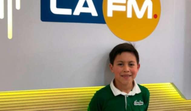 Daniel Sanabria Torres, el niño que tocó junto a André Rieu