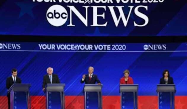 Tercer debate demócrata en EE.UU.