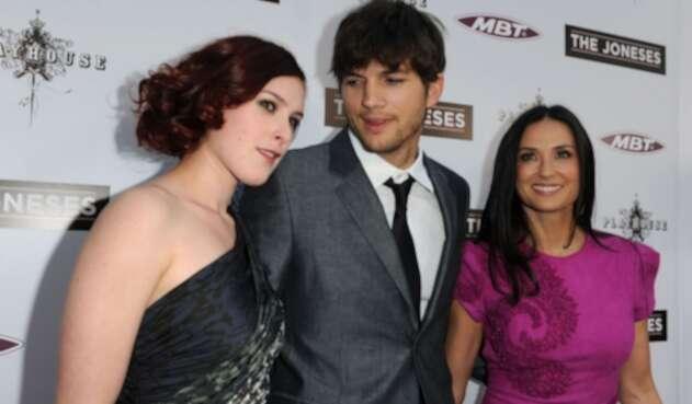 Demi Moore y Ashton Kutcher eran pareja