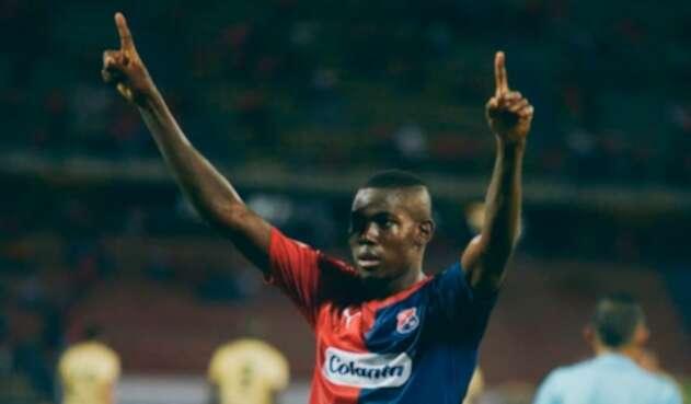 Didder Delgado, jugador del Independiente Medellín