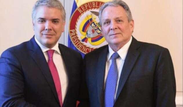 Iván Duque y Juan José Echavarría