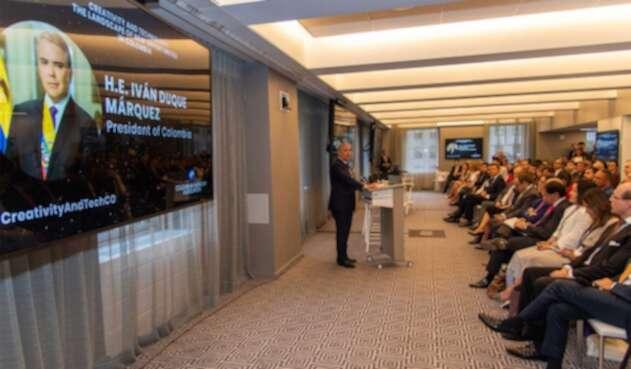 Presidente Iván Duque/Nueva York