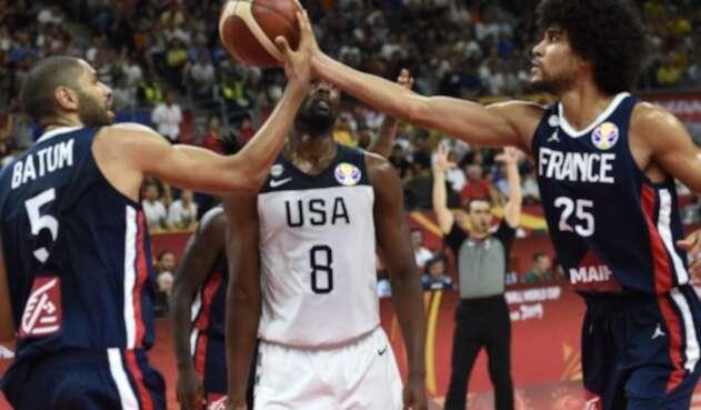 Estados Unidos vs Francia Baloncesto
