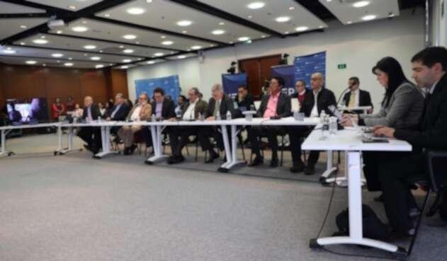 Los exjefes de las Farc comparecieron a la JEP por el tema de secuestros.