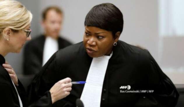 Fatou Bensouda, fiscal de la Corte Penal Internacional