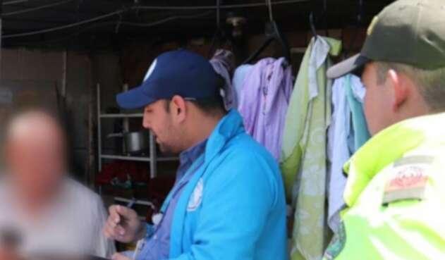 El sujeto detenido en Bogotá por violación sexual de gallos