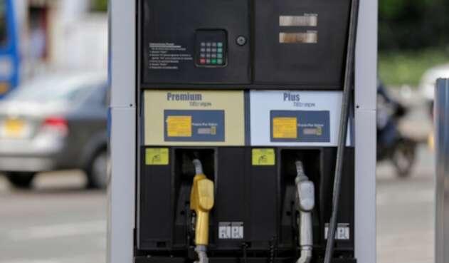 Estación de gasolina.