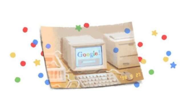 Doodle aniversario 21 de Google