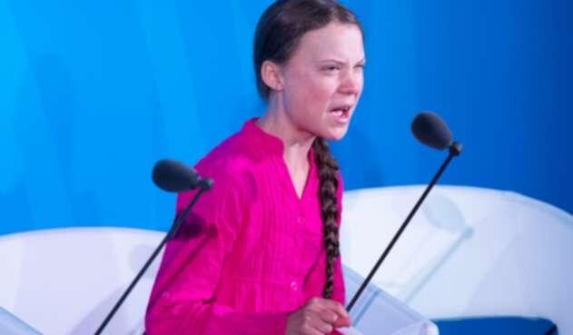 """La activista señaló que el mundo sigue """"sumido en una crisis que nunca se ha tratado como tal""""."""