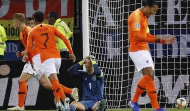 Holanda vs. Alemania