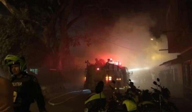 Mujer de 72 años falleció en medio de un incendio en el municipio de Pradera