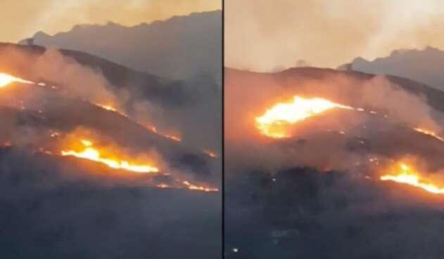 Incendios en Cali