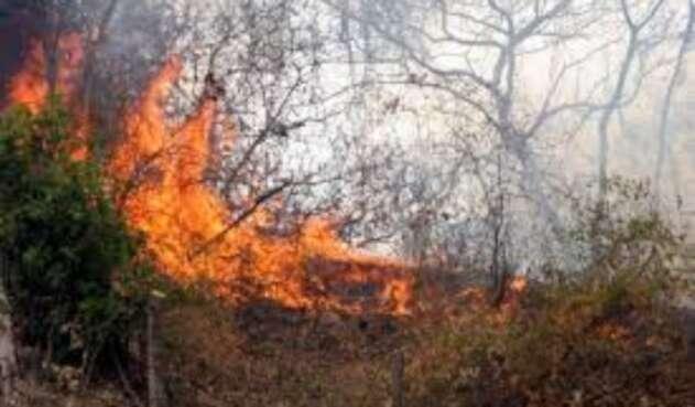 Incendios Forestales en Norte de Santander
