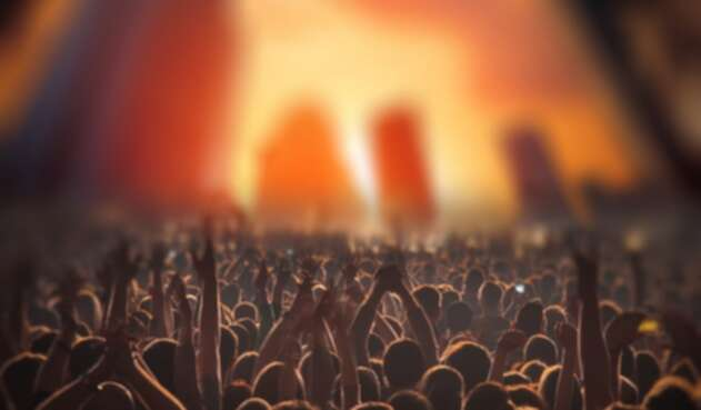 Personas en concierto - Eventos musicales