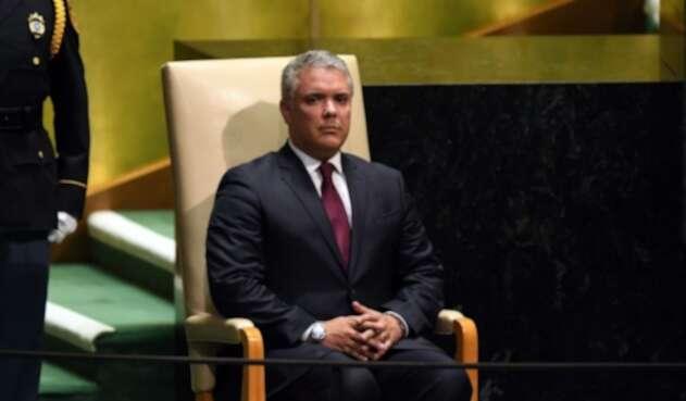 Iván Duque en la ONU