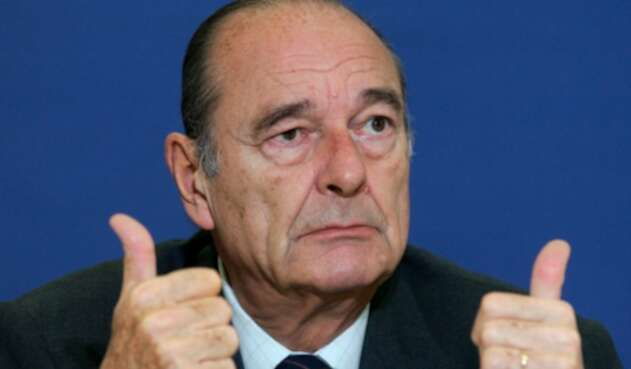 Jacques Chirac, expresidente francés fallecido