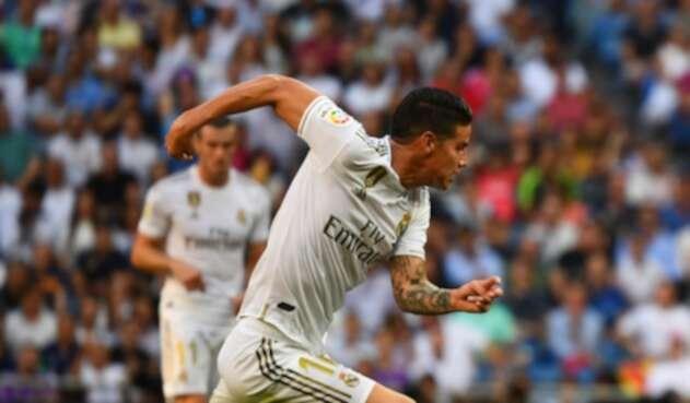 James Rodríguez, futbolista colombiano al servicio de Real Madrid