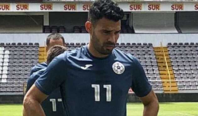 Juan Barrera, capitán de Nicaragua